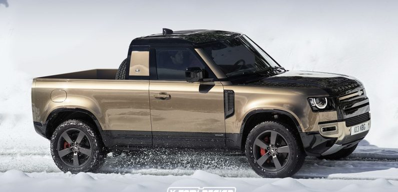 It Looks Like A New Land Rover Defender Pick-Up Will Happen