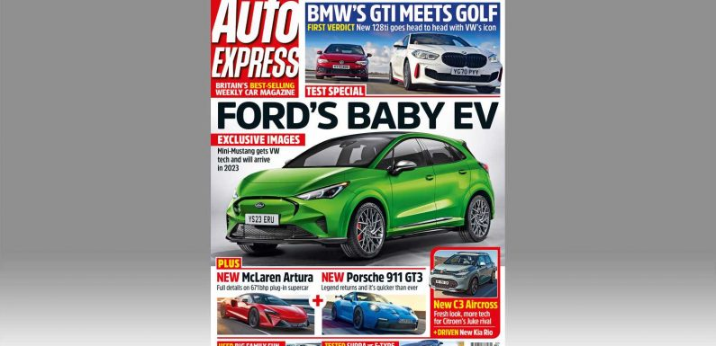 Ford's new baby electric car and new McLaren Artura in this week's Auto Express