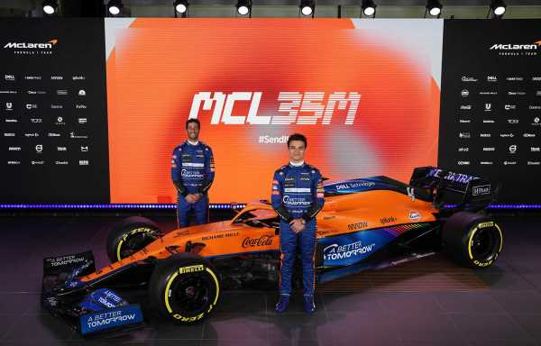No Mercedes branding on McLaren's MCL35M | F1 News by PlanetF1