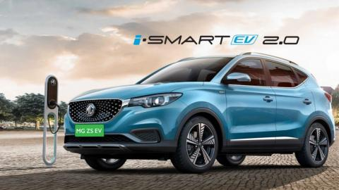 2021 MG ZS EV launched at Rs. 20.99 lakh
