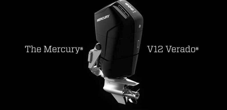 Mercury Marine's New 600-HP, 7.6L Outboard V12 Is the Engine Swap Your Bass Boat Needs