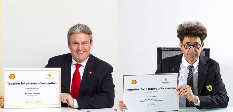 Ferrari F1 team extends 92-year partnership with Shell – paultan.org
