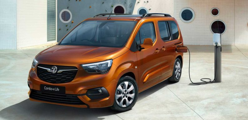 Electric Vauxhall Combo-e Life launched with 174 mile range