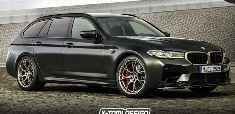 BMW M5 CS Touring Rendered As The One Performance Wagon To Rule Them All