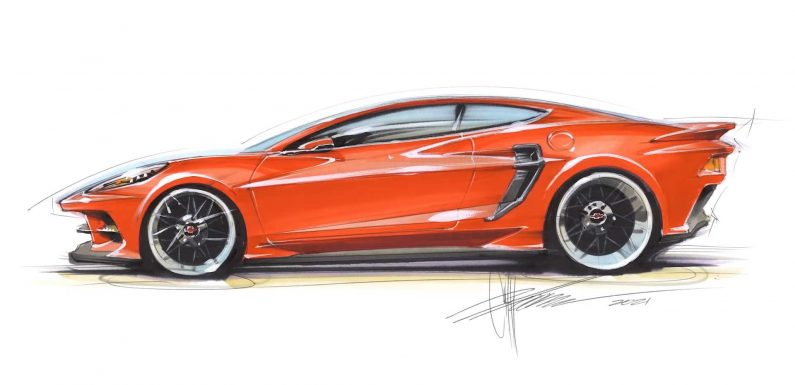 Chip Foose Isn't In Love With the C8 Corvette, So He Redesigned It