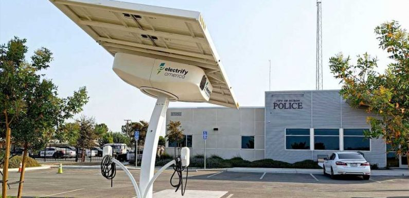 California: Electrify America Adds 30 Solar-Powered AC Charging Stations