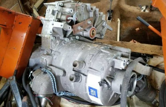 Someone Is Selling a Motor-Transaxle Unit For GM's Doomed EV1 Electric Car on eBay