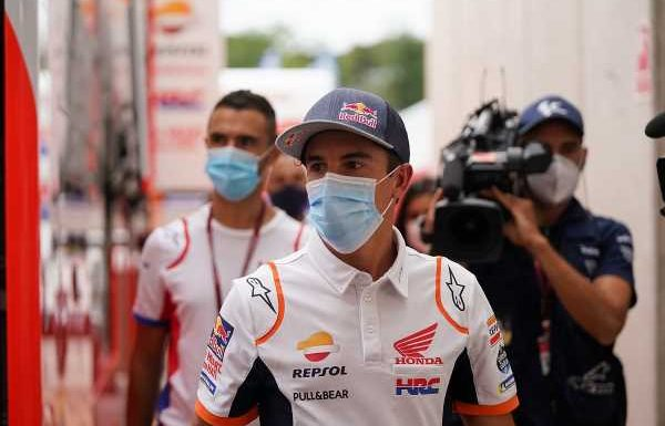 MotoGP news: Marc Marquez's arm finally starting to heal
