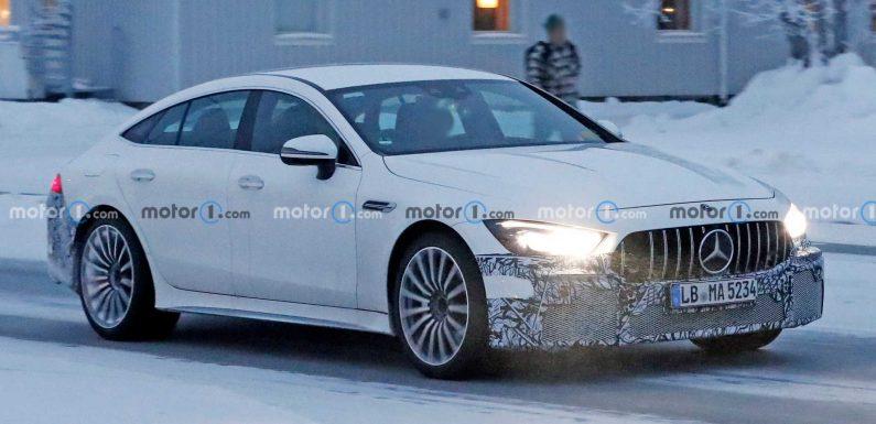 Mercedes-AMG GT73e Spied Enjoying The Snow