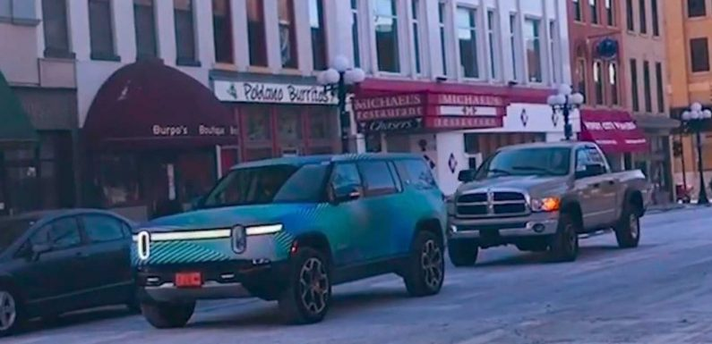 Watch Rivian R1S Out Driving: Size It Up To Ram 1500 & Other SUVs