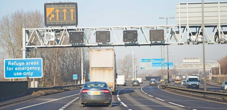 """Smart motorway rollout was """"entirely wrong"""", transport secretary tells MPs"""