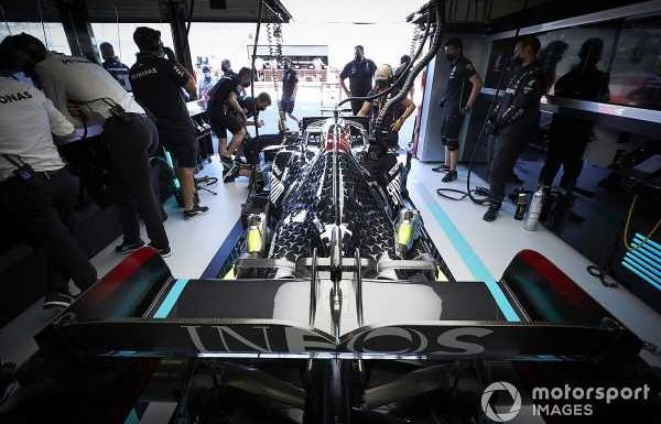 Mercedes admits it has 'some issues' with 2021 F1 engine