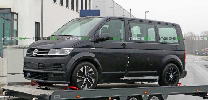 Volkswagen ID Buzz Test Mule Spotted Wearing Transporter Body