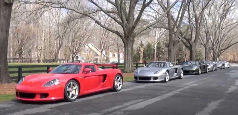 What's Better Than A Porsche Carrera GT? Six Of Them