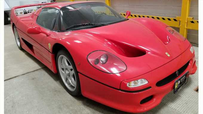 U.S. Attorney's Office Would Like to Find This Ferrari F50's Owner—Is It You?