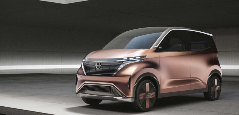 Nissan And Mitsubishi Will Have An $18,000 Electric Kei Car In Japan