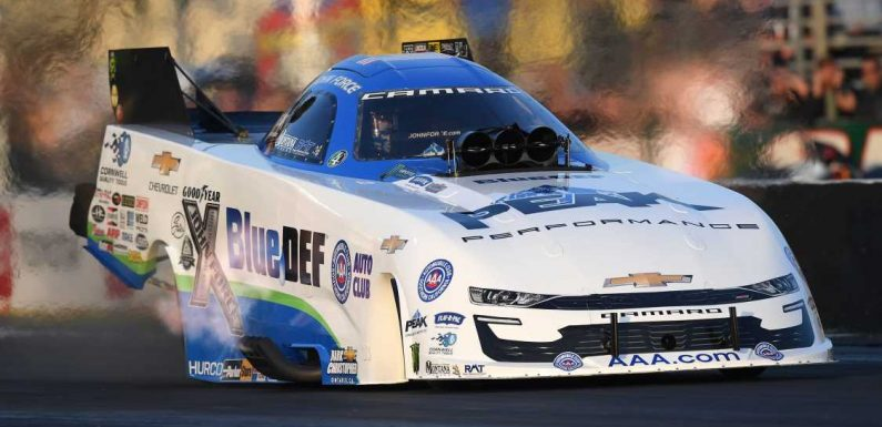 John Force Still the Funny Car King, Quickest at NHRA Palm Beach Raceway Test