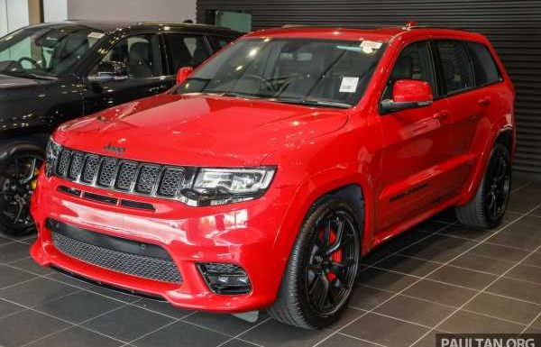 Jeep Grand Cherokee SRT launched in Malaysia – 6.4L Hemi V8 with 475 hp/644 Nm; RM719k with 50% SST – paultan.org
