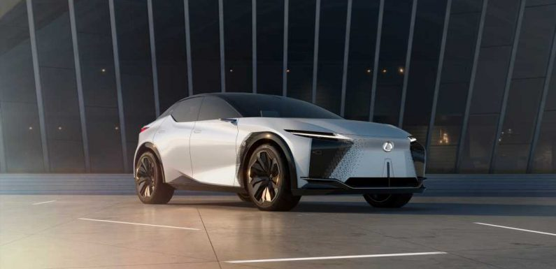 New Lexus LF-Z Electrified Concept Previews the Brand's Future