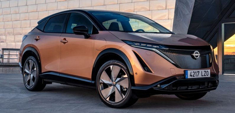 Nissan Ariya gets new Aurora Green, Akatsuki Copper colours – water-based process emits 25% less CO2 – paultan.org