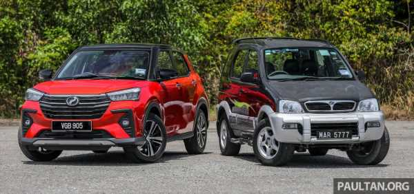 GALLERY: Perodua Ativa vs Kembara – new modern SUV placed side by side with P2's original mini 4×4 – paultan.org