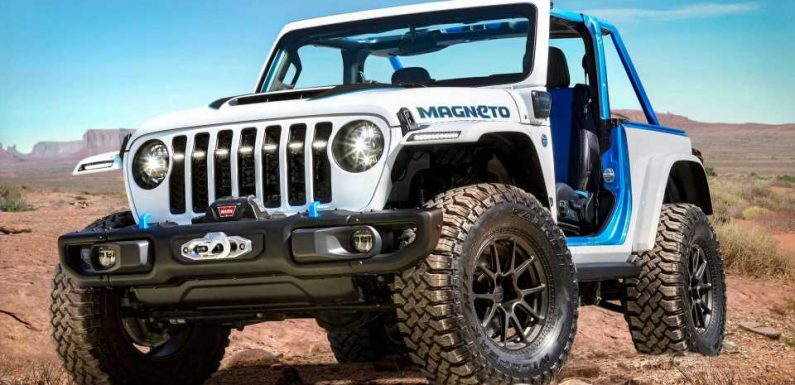 Electric Jeep Magneto Concept Debuts As Part Of Easter Safari Lineup
