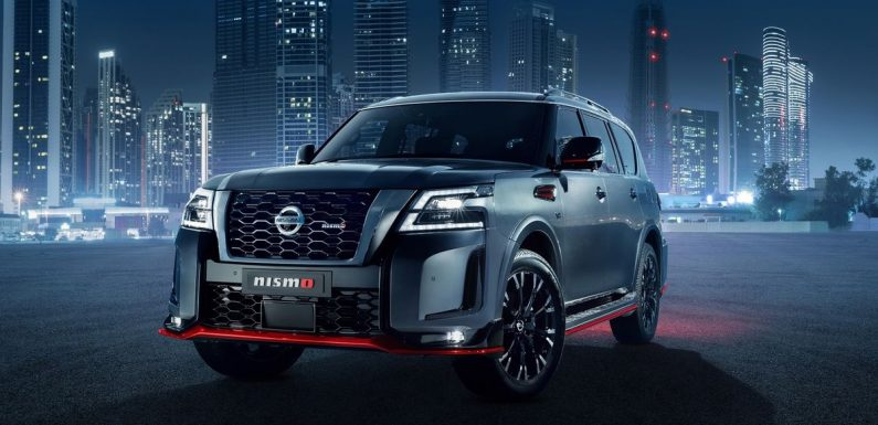 2022 Nissan Patrol Nismo Arrives With 423bhp N/A V8 And A Big Face