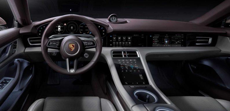 Porsche: 2020 Taycan Software Update Provides 'Smarter, Better' Drive