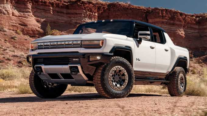 2022 GMC Hummer EV Sells at Charity Auction for $2.5 Million