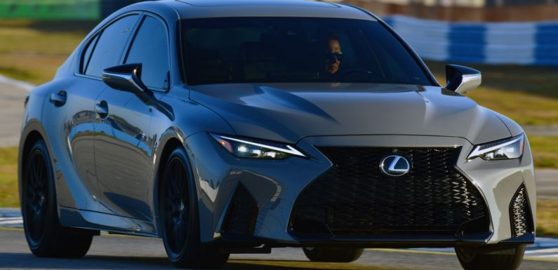 2022 Lexus IS 500 F Sport Performance Launch Edition gets exclusive grey paint, BBS wheels – 500 units only – paultan.org