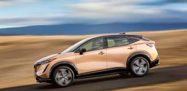 Photo Gallery: 2022 Nissan Ariya Electric SUV Final U.S. Production Look