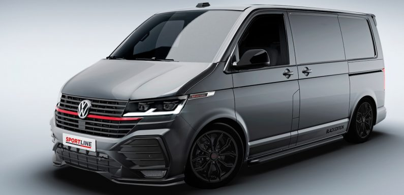 Meet the GTI-Inspired Volkswagen T6.1 Sportline Transporter Van
