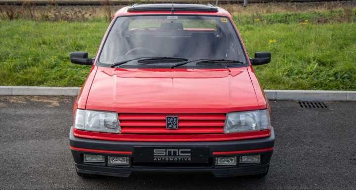 142-mile Peugeot 309 GTI for sale