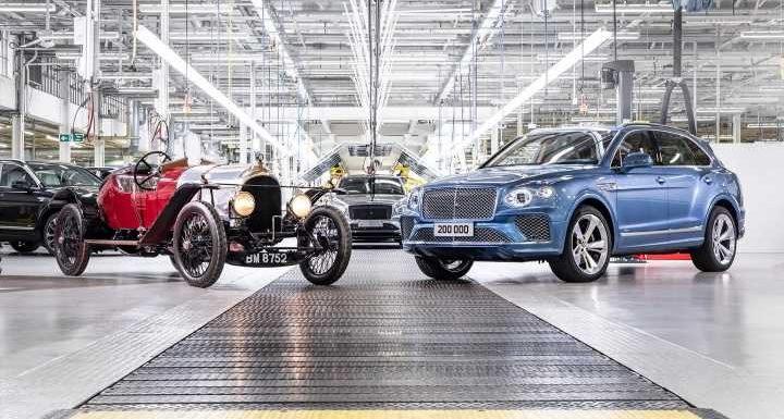 Bentley builds 200,000th car…