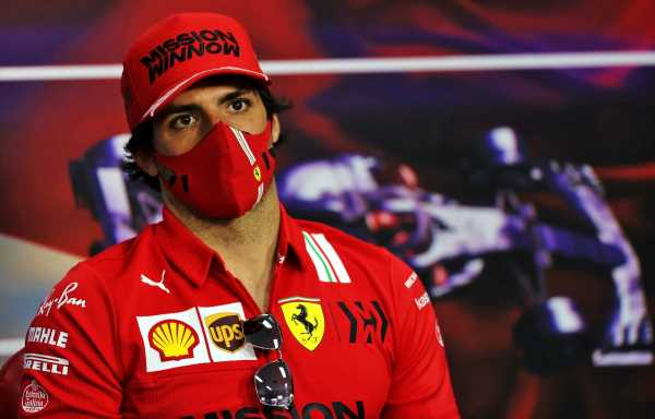 Carlos Sainz 'not at all' prepared for first race