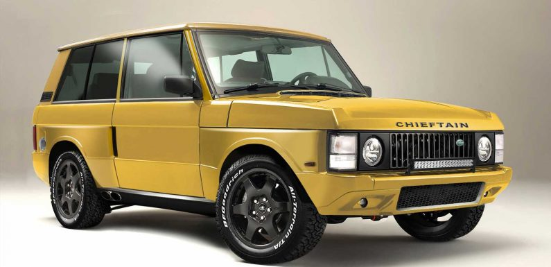 JIA launches new Range Rover Chieftain restomod