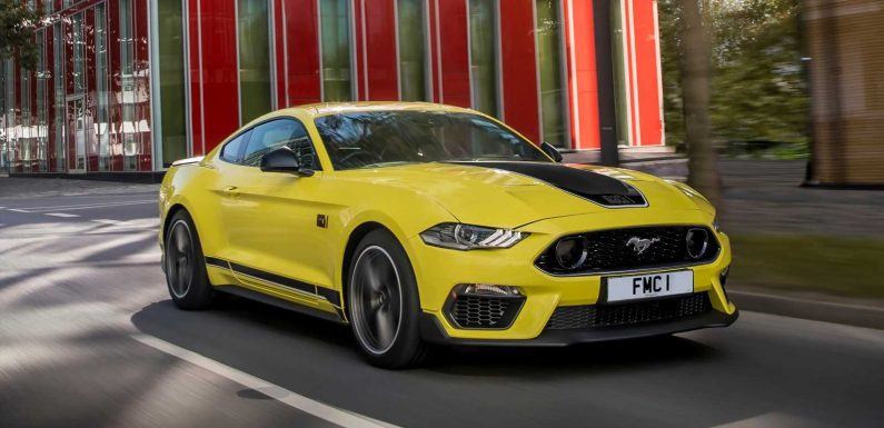 New Ford Mustang Mach 1 on sale in the UK now from £55,185