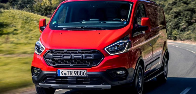 Electric Ford Transit Custom coming in 2023