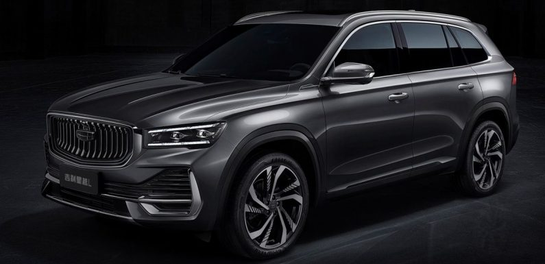 Geely Xingyue L features a one-metre-long display – KX11 SUV to go on sale in China soon with a 2.0T – paultan.org