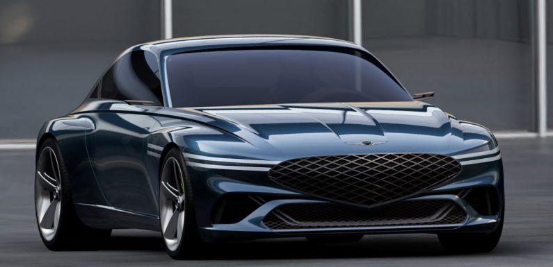 New pure-electric Genesis X concept makes LA debut