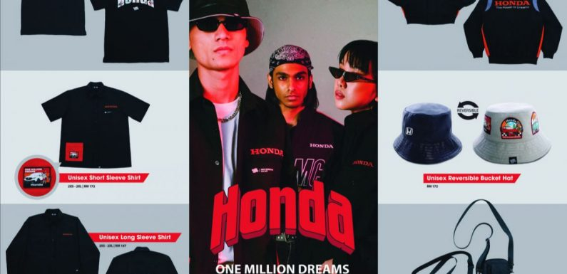 Honda Malaysia's 1M Dreams Collection merchandise – a collab with Pestle & Mortar, available on Shopee – paultan.org