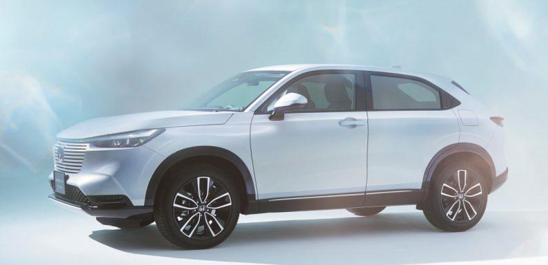 New 2021 Honda HR-V hybrid SUV: more design details revealed