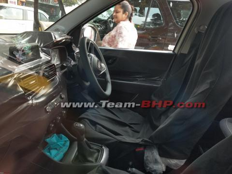 Scoop! Tata HBX mid variant interiors spied