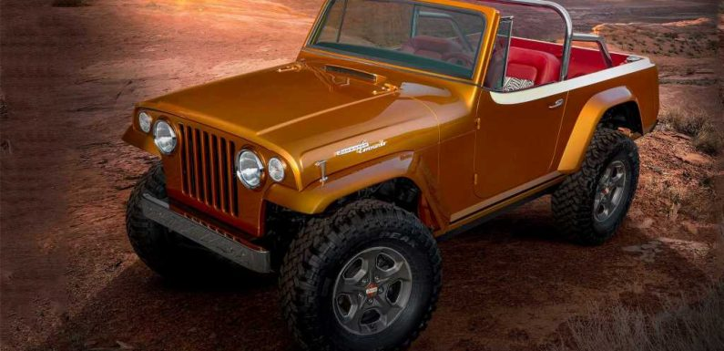 Old Looks, New Tech: Meet the Jeepster Beach Restomod