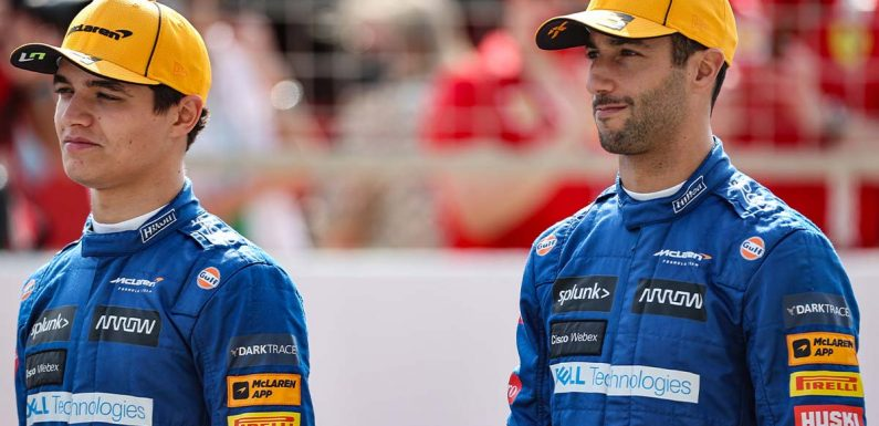 Lando Norris and Daniel Ricciardo 'never really spoke' before this year