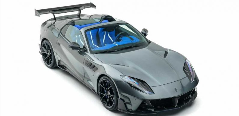 Mansory Does Its Thing to the Ferrari 812 GTS V-12 Convertible