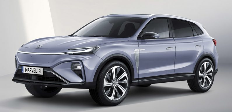 New MG Marvel R electric SUV promises heroic performance