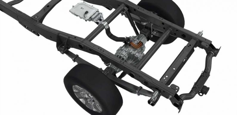 Magna's eBeam Axle Could Turn Gas- and Diesel-Powered Trucks Into EVs