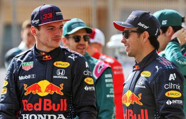 Sergio Perez facing 'best in the sport' in Max Verstappen