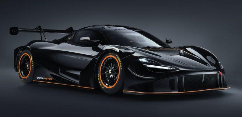 McLaren 720S GT3X is a regulation-free track monster with a passenger seat – 4.0L V8, 750 PS; 1,210 kg! – paultan.org